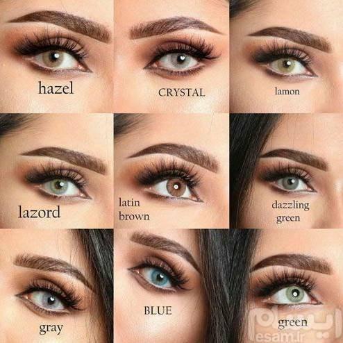 لنز طبی رنگی |
