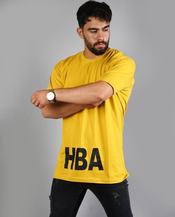 تصویر تی شرت مردانه HBA مدل لش
