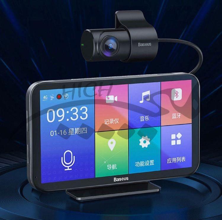 تصویر سیستم مولتی مدیا خودرو بیسوس Baseus Cloud Voice Car Video Recorder CRJLY02-01 دارای دوربین