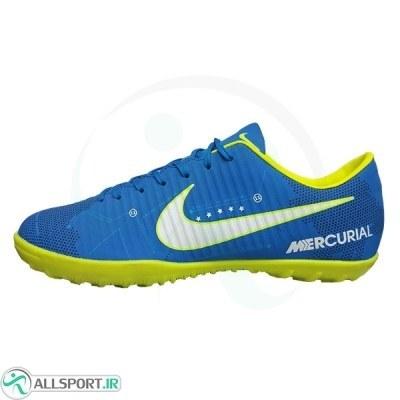 کفش فوتبال نایک مرکوریال نیمار طرح اصلی آبی Nike Mercurial Neymar jrr