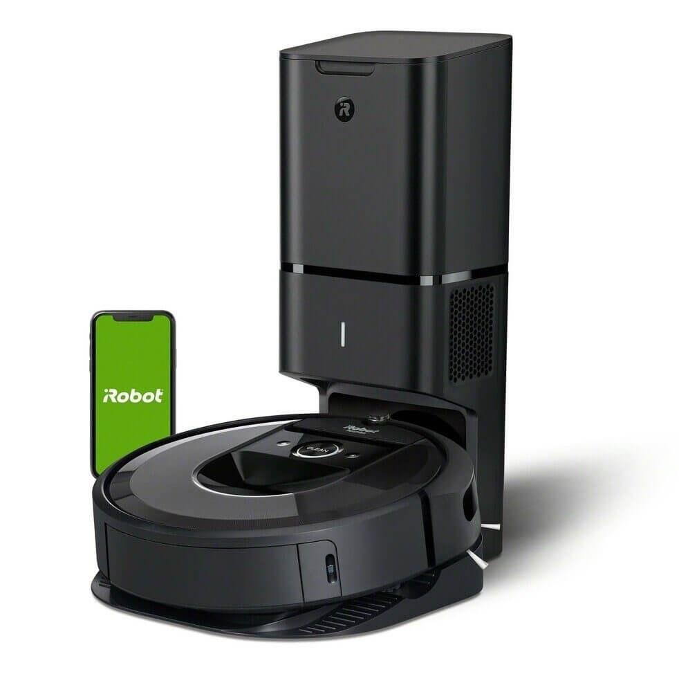 تصویر جارو رباتیک آی ربات آمریکا iRobot Saugroboter Roomba i7-App-Steuerung