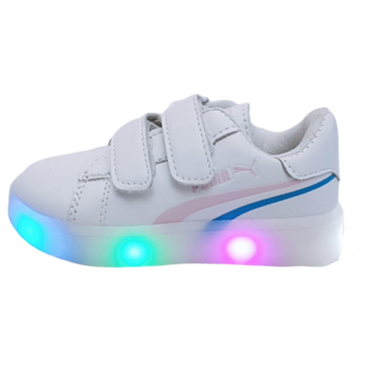 کفش اسپرت چراغدار دخترانه |