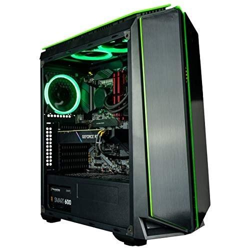 main images کامپیوتر بازی CUK Mantis (مایع خنک کننده Intel Core i9-9900K ، NVIDIA GeForce RTX 2080 Ti 11GB ، 32 GB RAM ، 1TB NVMe SSD 2TB، 750W Gold PSU، مادربرد Z390) بهترین رایانه رومیزی برج برای گیمرها