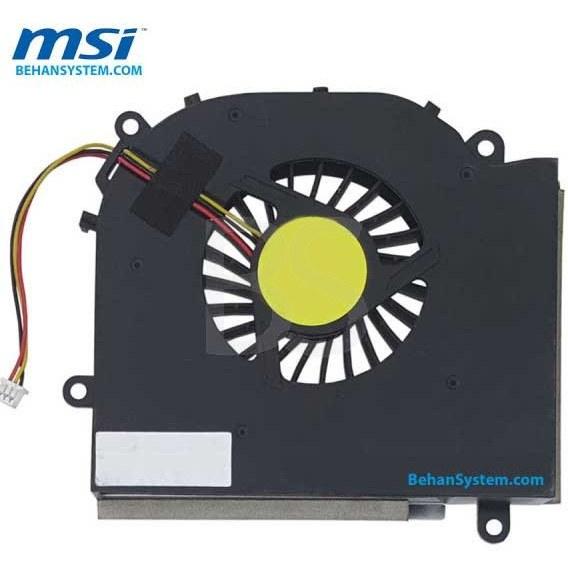 تصویر فن پردازنده لپ تاپ MSI مدل GX720 / EX720 سه سیم / DC5V