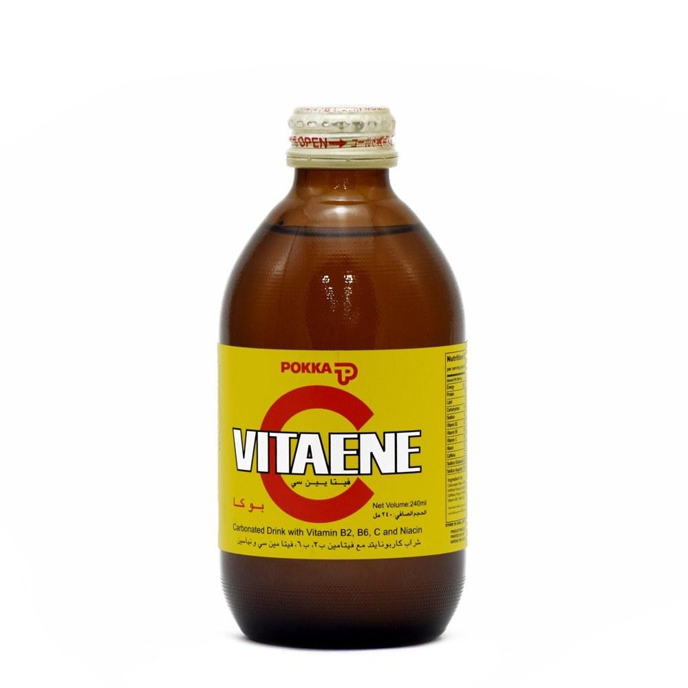 تصویر نوشابه انرژی زا ویتامین سی پوکا ۲۴۰ میلی لیتری