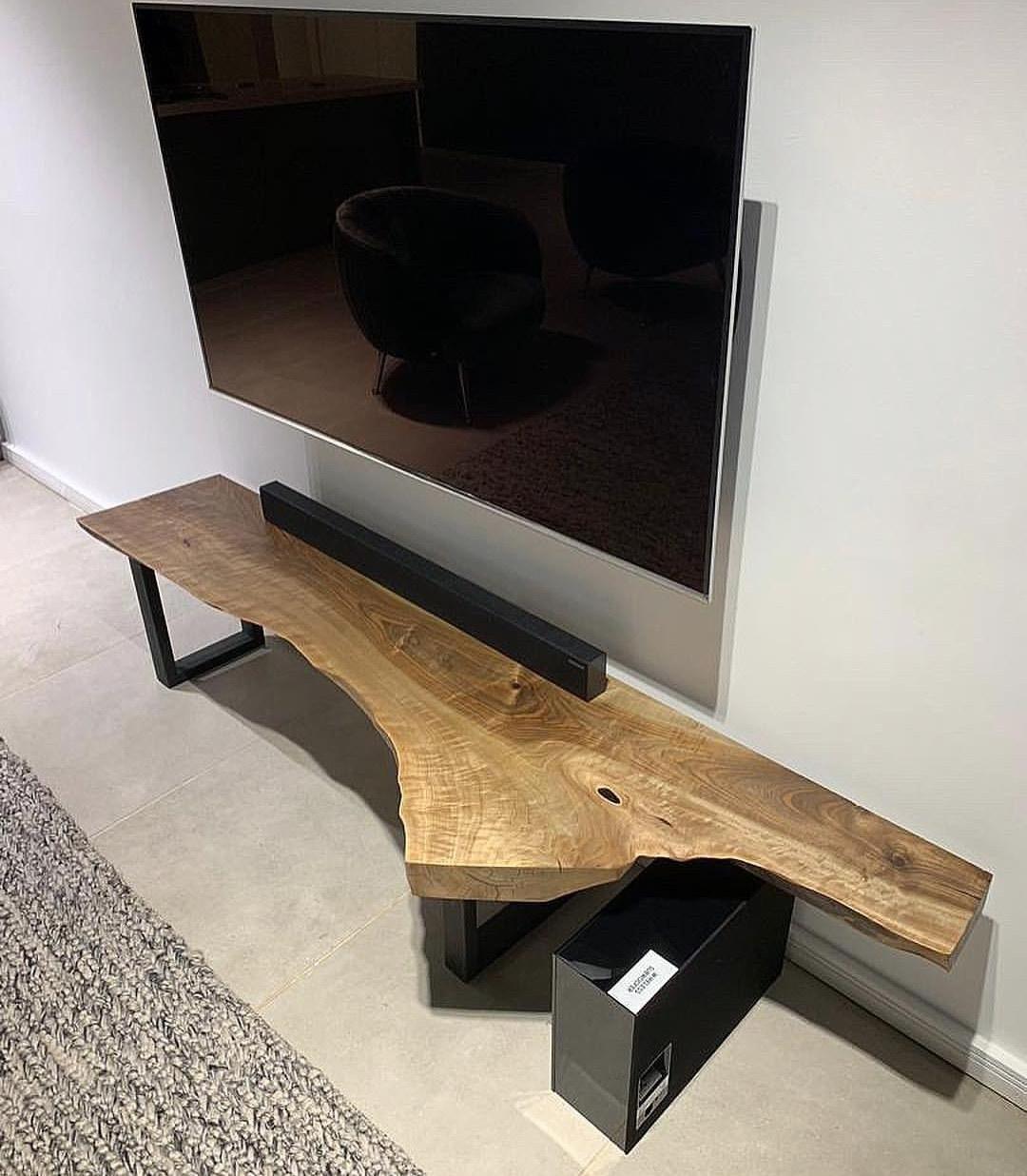 میز چوب گردو تلویزیون TT۰۲