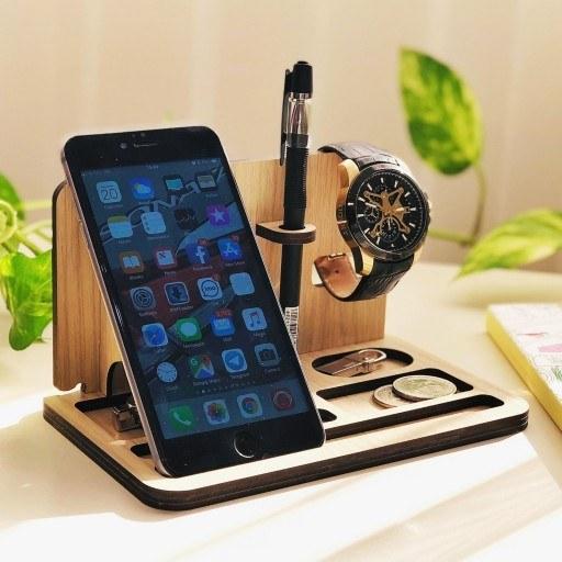 main images استند رومیزی گوشی موبایل مدل D33