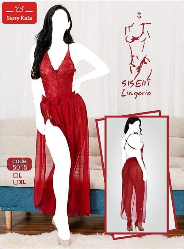 عکس لباس خواب بلند بغل باز SISENT (کد:5015) SISENT open arm long pajamas (Code: 5015) لباس-خواب-بلند-بغل-باز-sisent-کد-5015