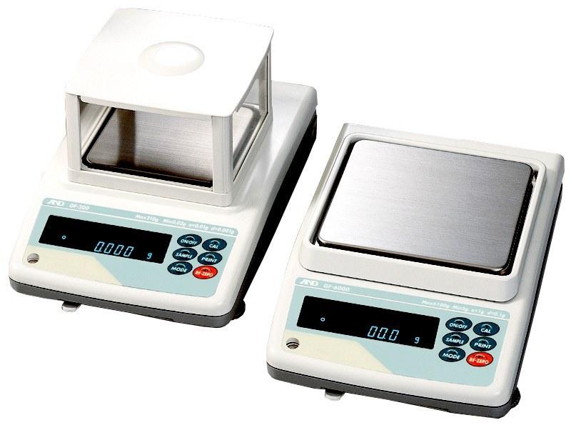 تصویر ترازوی آزمایشگاهی AND مدل GF300 Laboratory Scale Model GF 300