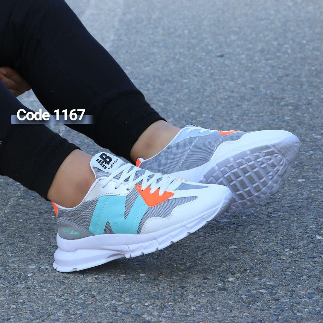 تصویر کفش اسپرت مردانه نیوبالانس کد ۱۱۶۷