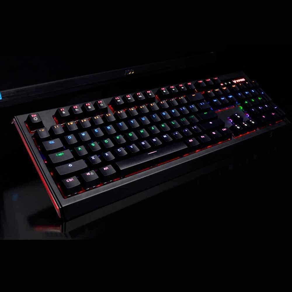 تصویر RAPOO  V520 Backlit Mechanical Gaming Keyboard RAPOO  V520 Backlit Mechanical Gaming Keyboard