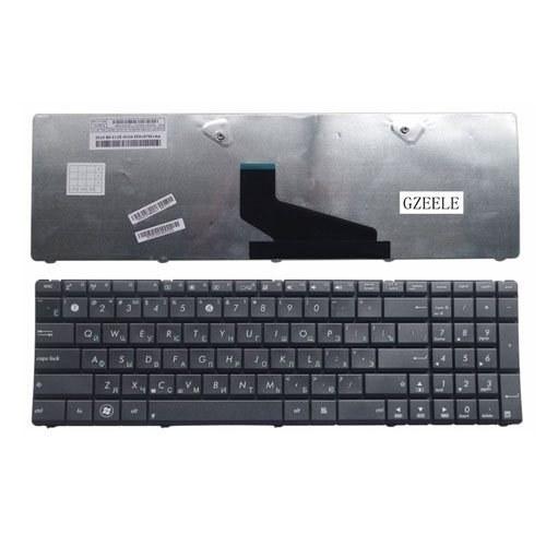 تصویر صفحه کلید ایسوس مدل Keyboard Asus X53, X54, X73 Keyboard Asus X53, X54, X73 Black