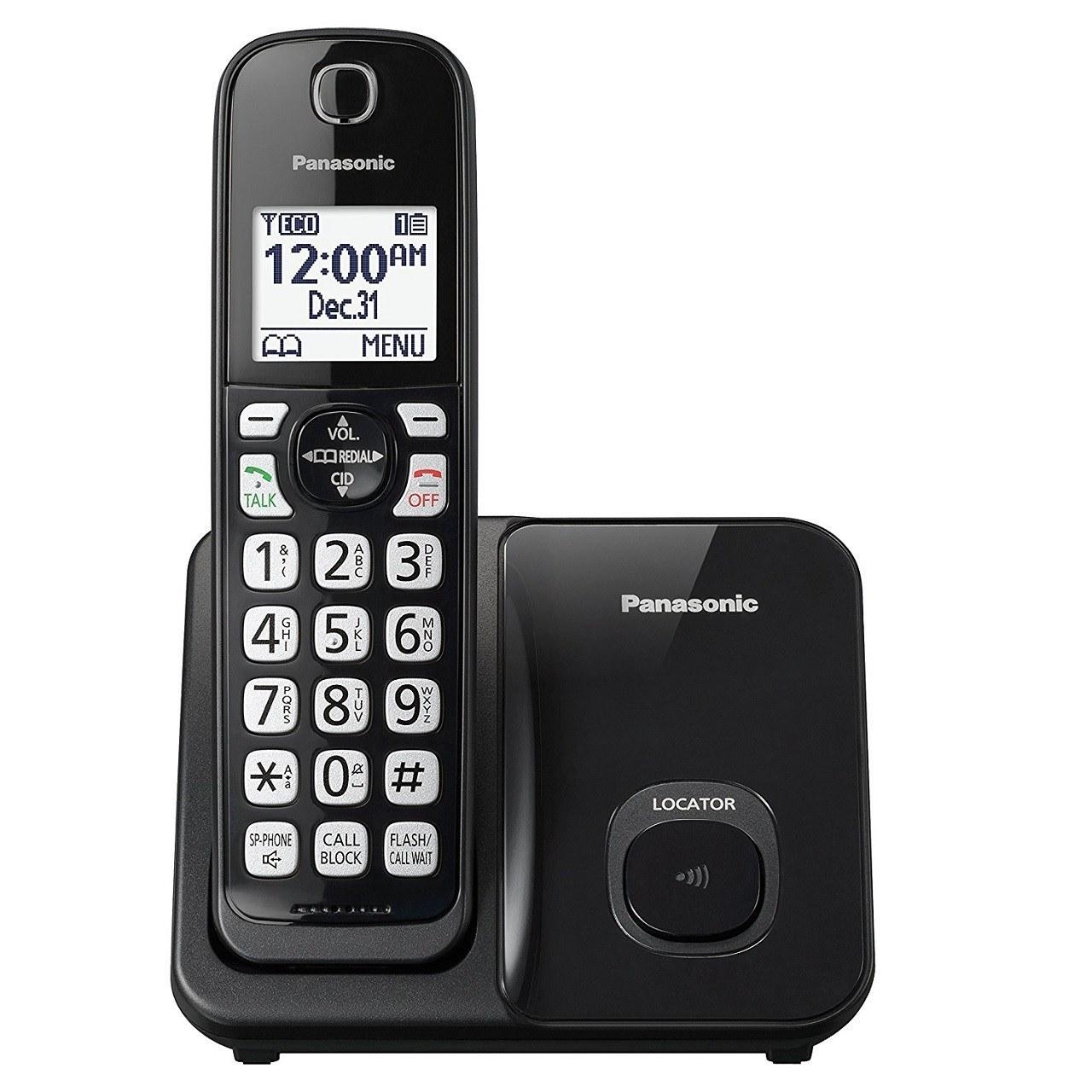 تصویر گوشی تلفن  بی سیم  پاناسونیک ا Panasonic Cordless Telephone KX-TGD510 Panasonic Cordless Telephone KX-TGD510