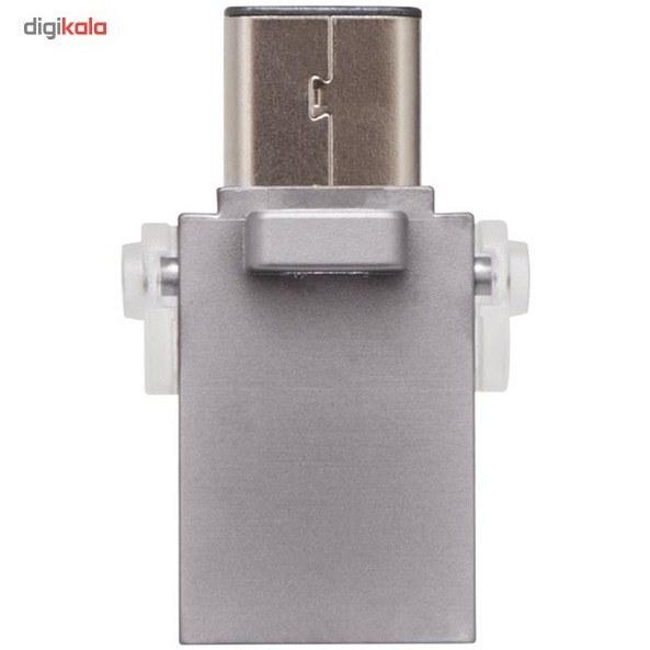 img فلش مموری کینگستون مدل DTDUO3C ظرفیت 64 گیگابایت Kingston DTDUO3C Flash Memory - 64GB