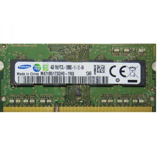 رم لپ تاپ سامسونگ ۴ گیگابایتPC3-12800 DDR۳ با فرکانس ۱۶۰۰