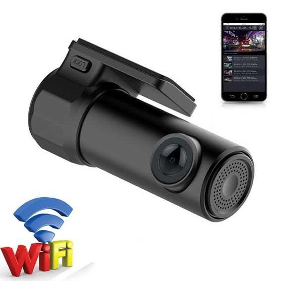 دوربین خودرو وای فای دار تک لنز – کد ۱۳۰۰