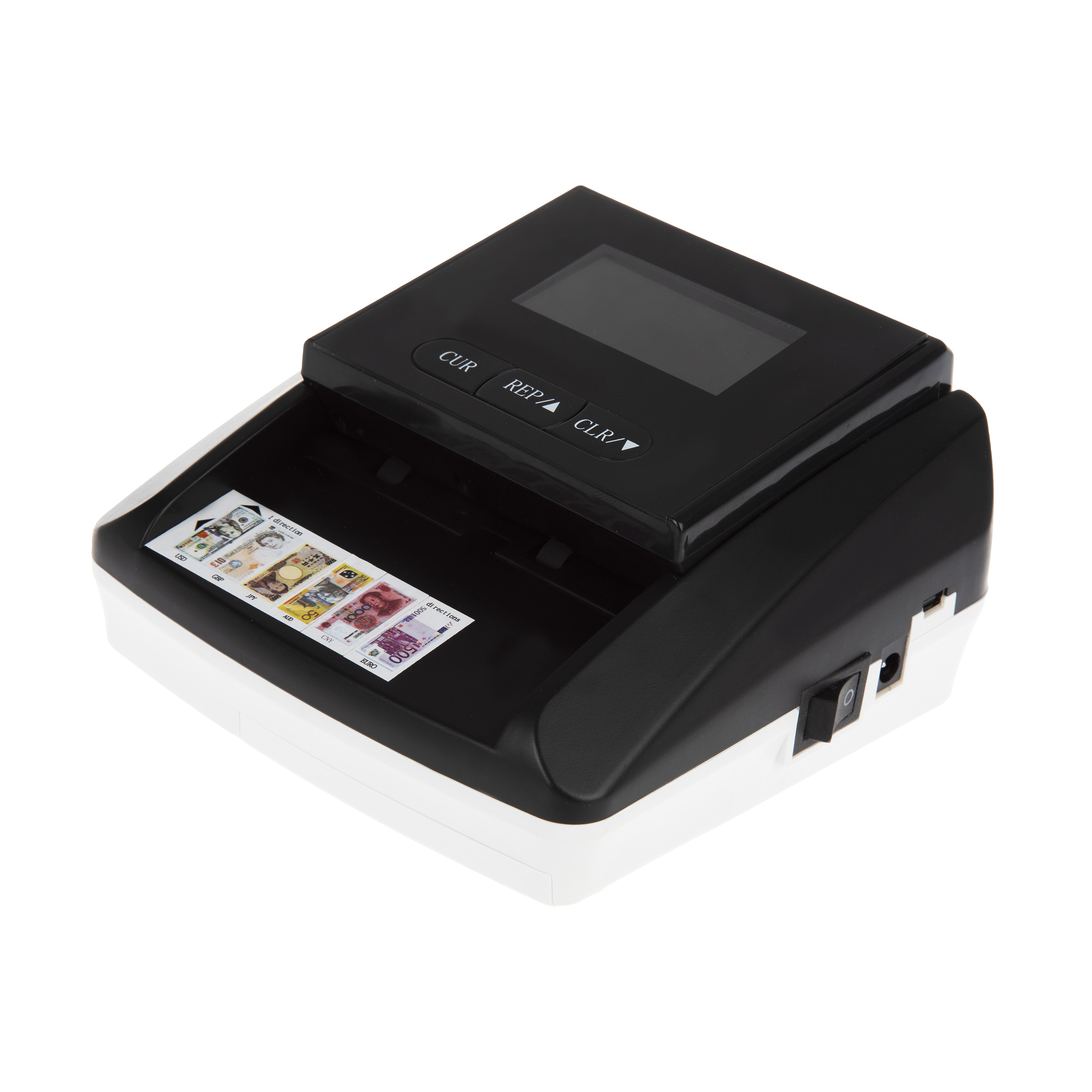تصویر مشخصات –  قیمت                      دستگاه تشخیص اصالت اسکناس دیتک کد 106