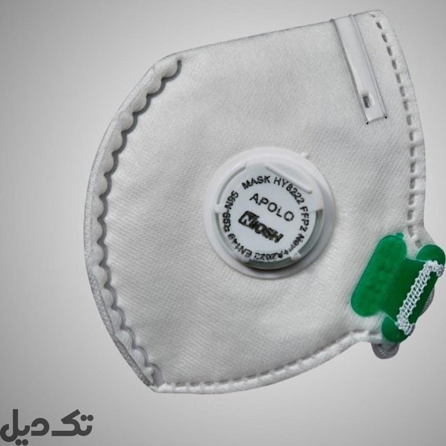 ماسک تنفسی Apollo N95