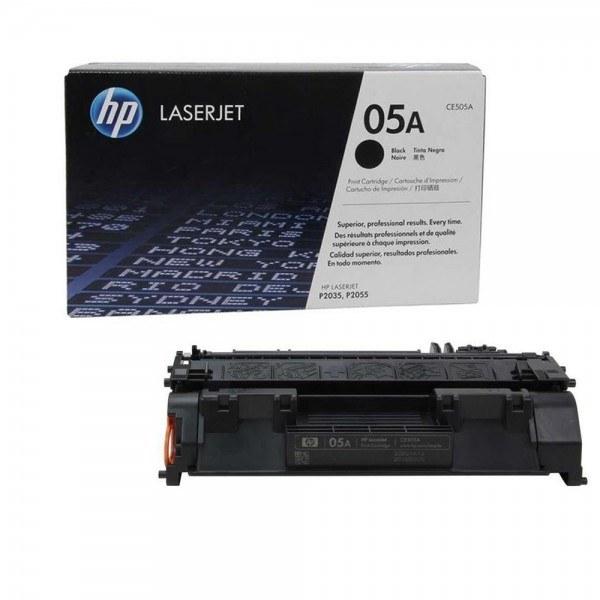 تصویر کارتریج تونر لیزری 05A مشکی اچ پی HP LaserJet 05A Black Toner Cartridge