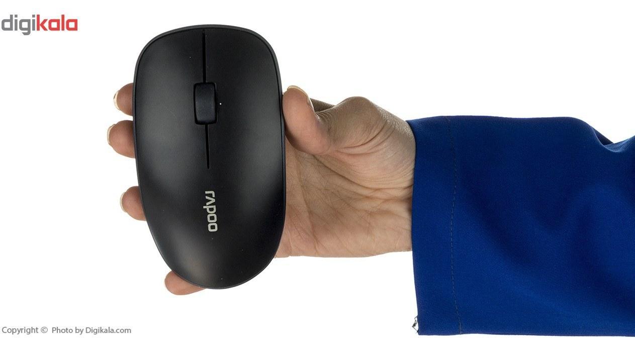 img کیبورد و ماوس بی سیم رپو مدل X9310 کیبورد و ماوس رپو X9310 Wireless Keyboard and Mouse