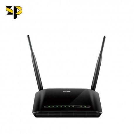تصویر مودم روتر ADSL2 بی سیم دی-لینک D-Link مدل DSL-2740U