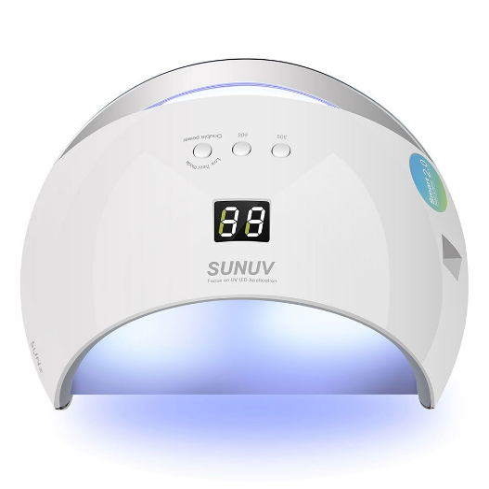 تصویر دستگاه یووی ال ای دی UV – LED ناخن 48 وات مدل سان6   SUN 6
