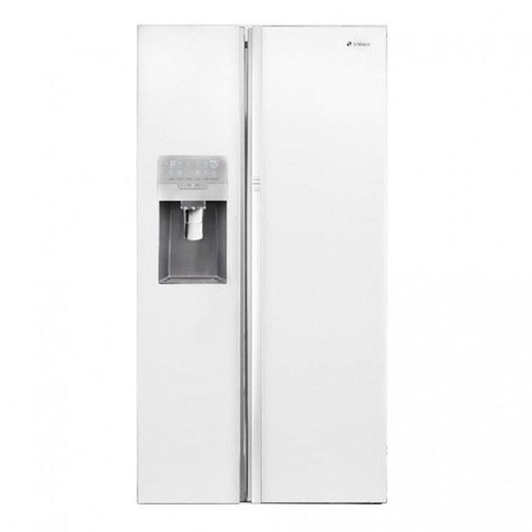 یخچال و فریزر ساید بای ساید اسنوا مدل S8-3350GW