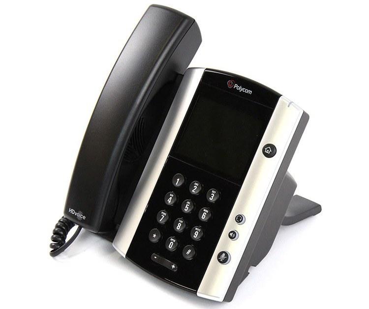 تصویر Polycom VVX 500 IP Phone تلفن VoIP پلی کام مدلVVX 500 IP  تحت شبکه
