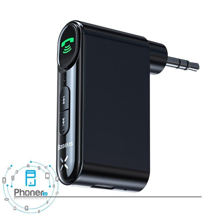 تصویر گیرنده بی سیم صدا مدل WXQY-01 Qiyin AUX Car Bluetooth Receiver برند Baseus