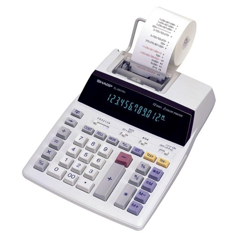 تصویر ماشین حساب مدل EL-2607P شارپ Sharp EL-2607P Calculator