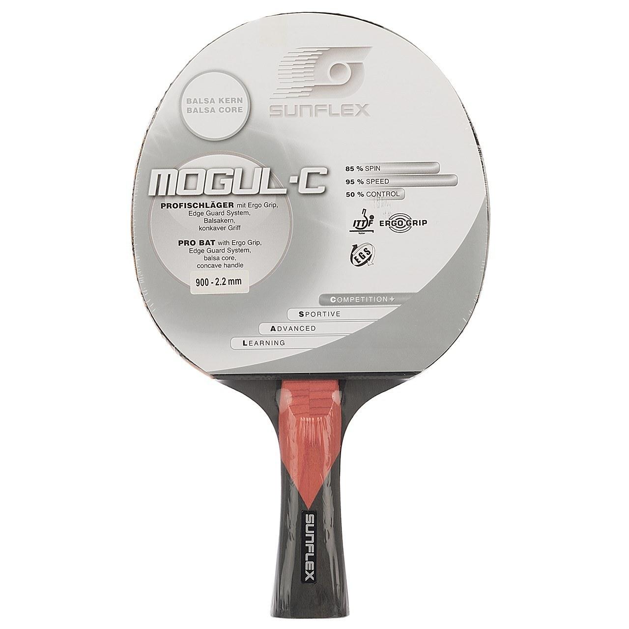 راکت پينگ پنگ سان فلکس مدل Mogul-C Level 900 | Sunflex Mogul-C Level 900 Ping Pong Racket