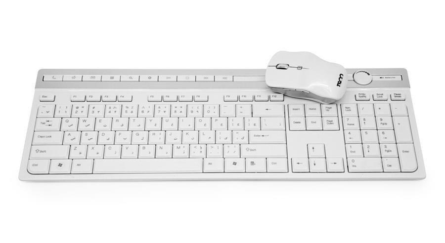 تصویر کیبورد و ماوس تسکو TKM 7106 W Wireless Keyboard and Mouse