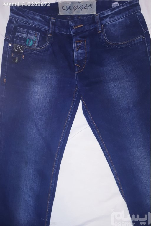شلوار جین مردانه راسته،تایلندی،آکبند،سایز 44،شیک | شلوار جین مردانه تایلندی،آکبند،راسته رنگ آبی تیره و سایز 44