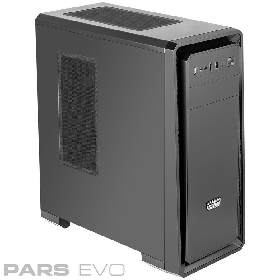 کیس کامپیوتر گرین مدل پارس اوو