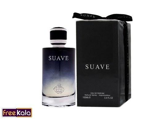 تصویر ادو پرفیوم مردانه فراگرنس ورد مدل Suave حجم 100میل Fragrance World Suave Eau De Parfum For men 100ml