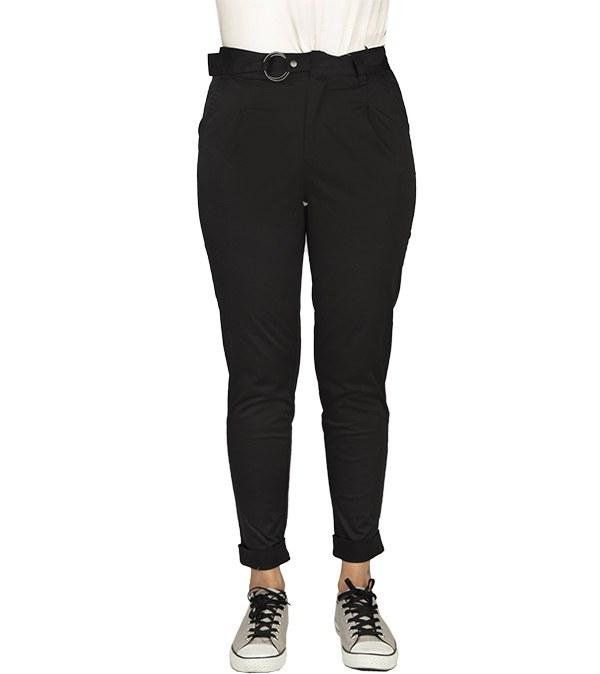 شلوار زنانه پاکتی کتان جین وست Jeanswest