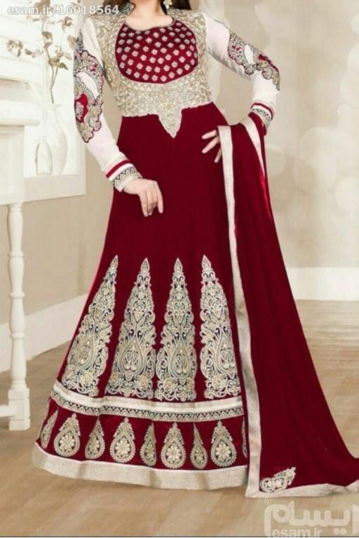 ست لباس هندی   ست شال لباس شلوار