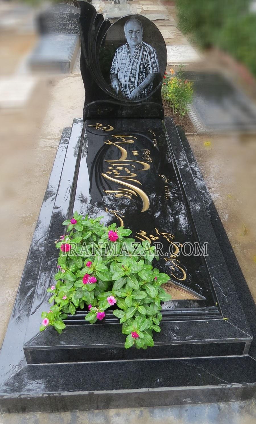 تصویر سنگ قبر گرانیت سیمین کد S406