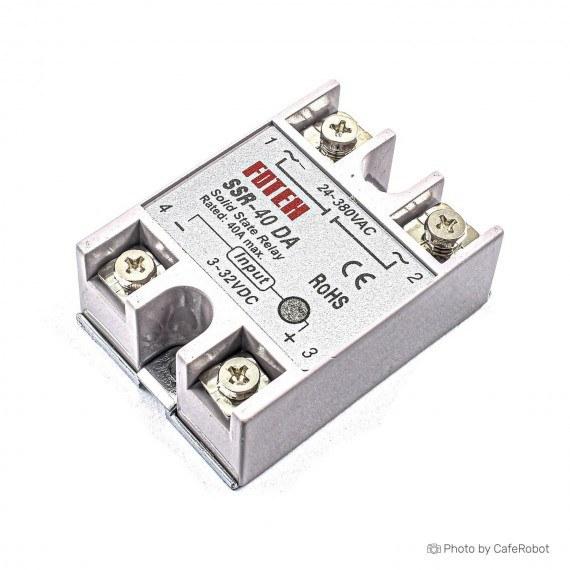 تصویر رله SSR-40DA Solid State - رله 24-380 ولت 40 آمپر