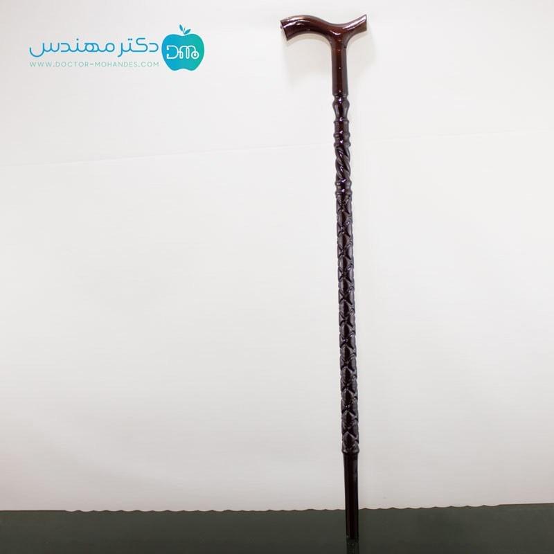تصویر عصا چوب گردو هشت طناب