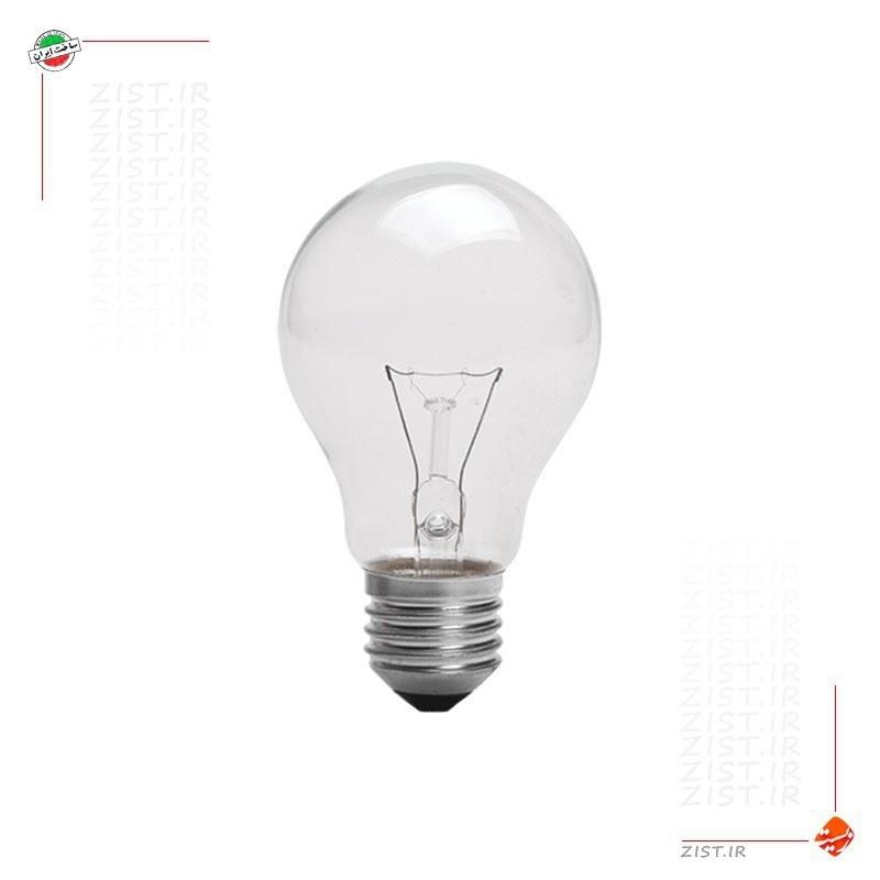 تصویر لامپ  100  وات  رشته ای  - پارس شهاب