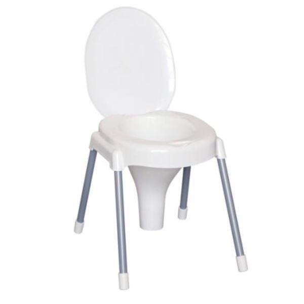 تصویر صندلی توالت فرنگی ناصر Plastic toilet
