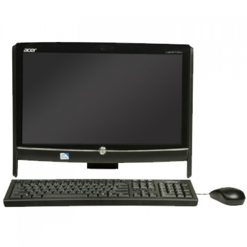 تصویر کامپیوتر آماده ایسر با پردازنده اینتل اتم و صفحه نمایش لمسی کامپیوتر آماده AIO ایسر Veriton Z292G D525B 2GB 320GB 512GB Touch