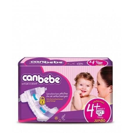 پوشک نوزاد جان ب ب 9تا20 کیلوگرم (سایز 4+) Canbebe |