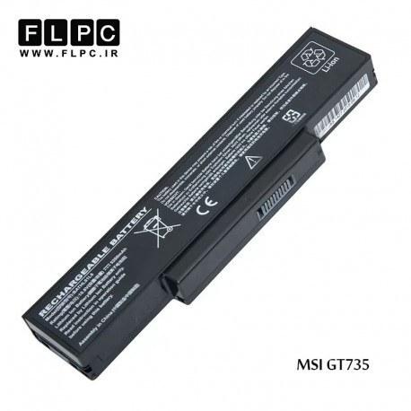 main images باطری لپ تاپ ام اس آی MSI laptop battery GT735 -6cell
