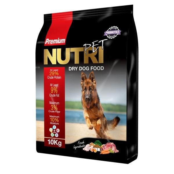 تصویر غذای خشک سگ پانزده کیلویی بیست و نه درصد پروتئین نوتری پت