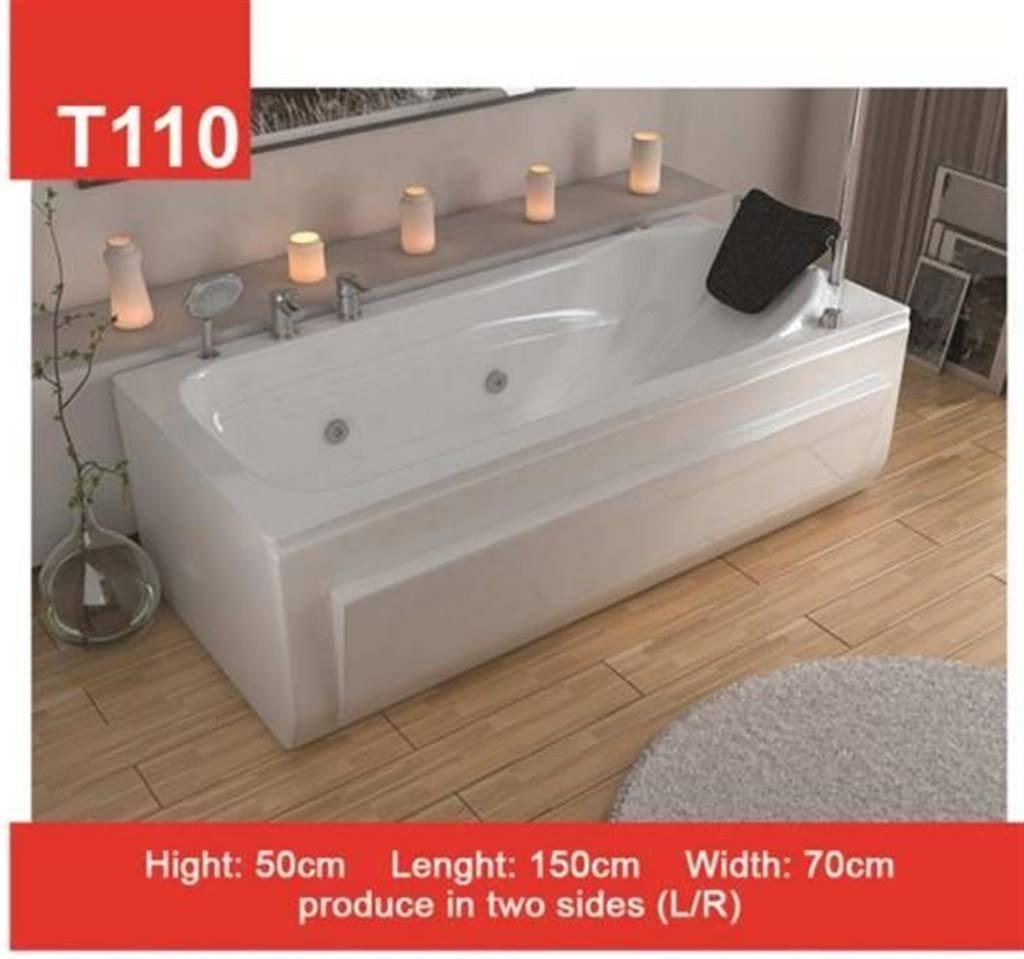 تصویر وان و جکوزی حمام Tenser مدل T110
