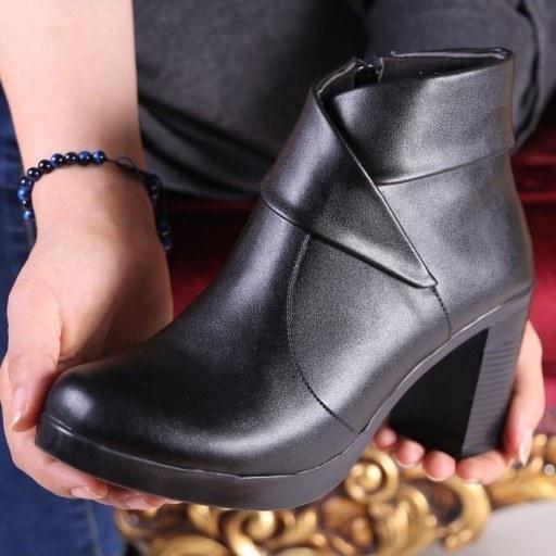 کفش نیم بوت زنانه مدل همتا |