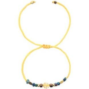 دستبند طلا 18 عیار گرامی گالری مدل B702 | Geramy Gallery B702 Gold Bracelet