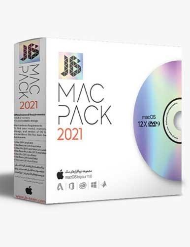 تصویر مجموعه پکیج نرم افزار مک JB Mac Pack 2021 نشر JB Team